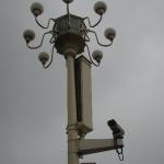 场的监视摄像头 Surveillance Cameras at Tiananmen Square