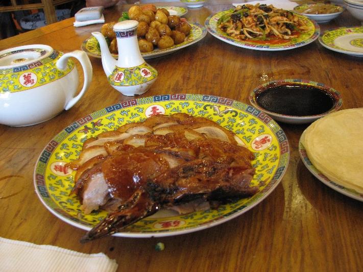 北京烤鸭 Peking Duck